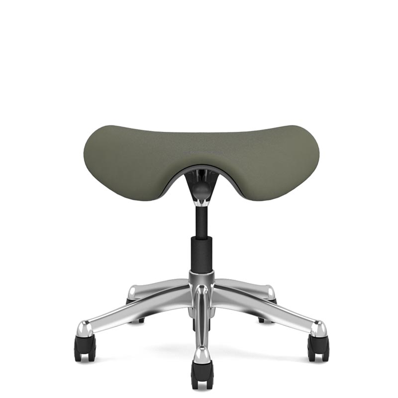 Humanscale Freedom Saddle Stool - Front View