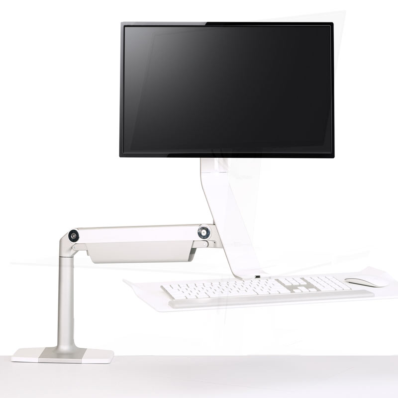 Quickstand Lite Sit Stand Desk Solution